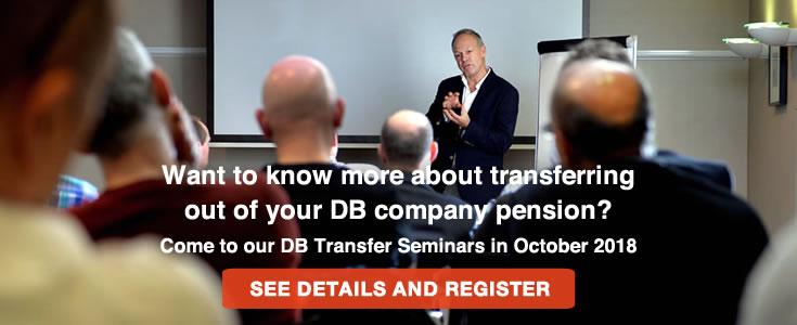 Defined Benefit Pension Transfer seminars